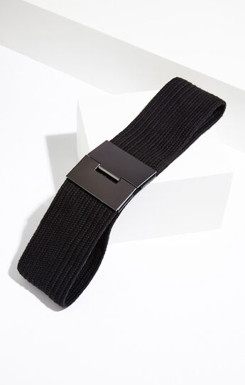 Elastic Plate Waist Belt