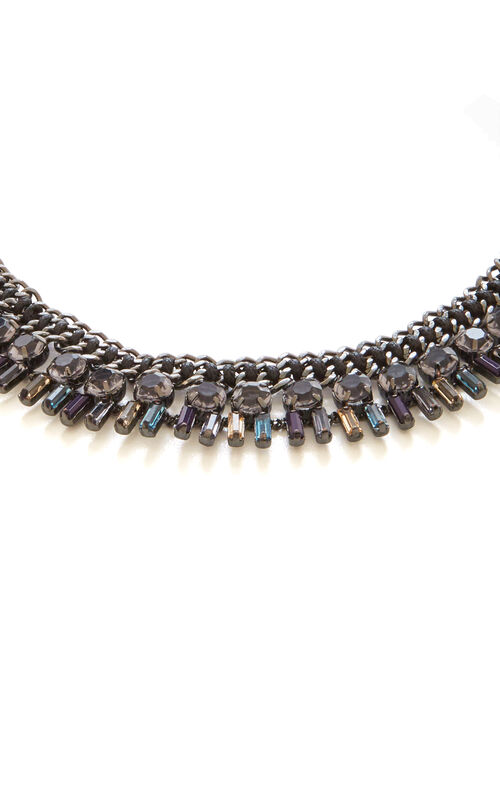Corded Stone Necklace