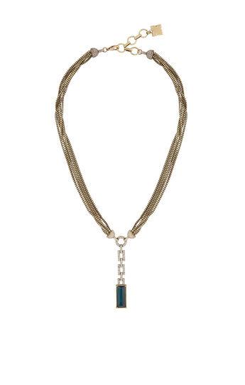 Stone Lariat Necklace