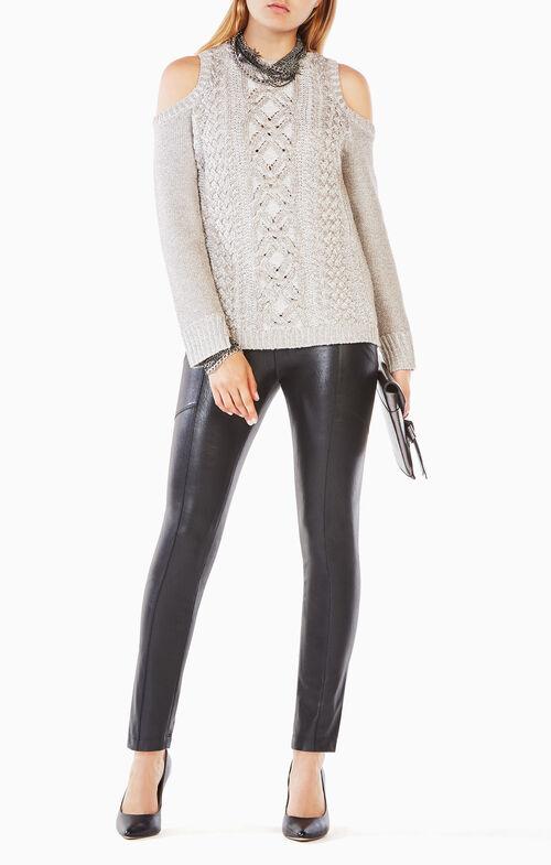 Arlene Cold-Shoulder Sweater