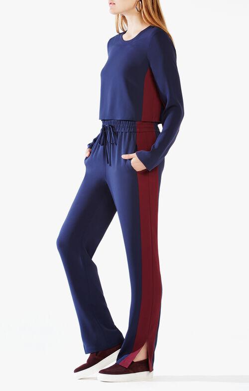 Smitry Color-Blocked Jumpsuit