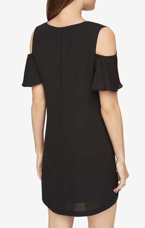 Kia Cold-Shoulder Dress