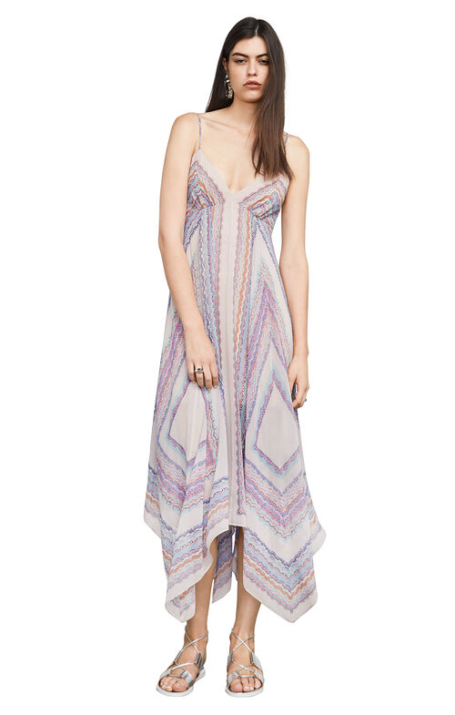 Isabela Tapestry-Print Dress