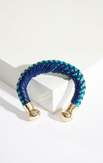 Tribal Braided Cuff Bracelet