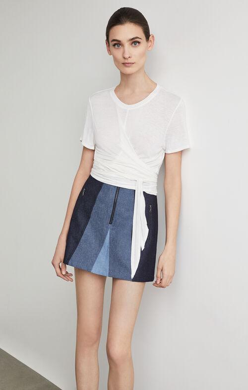Judah Color-Blocked Skirt