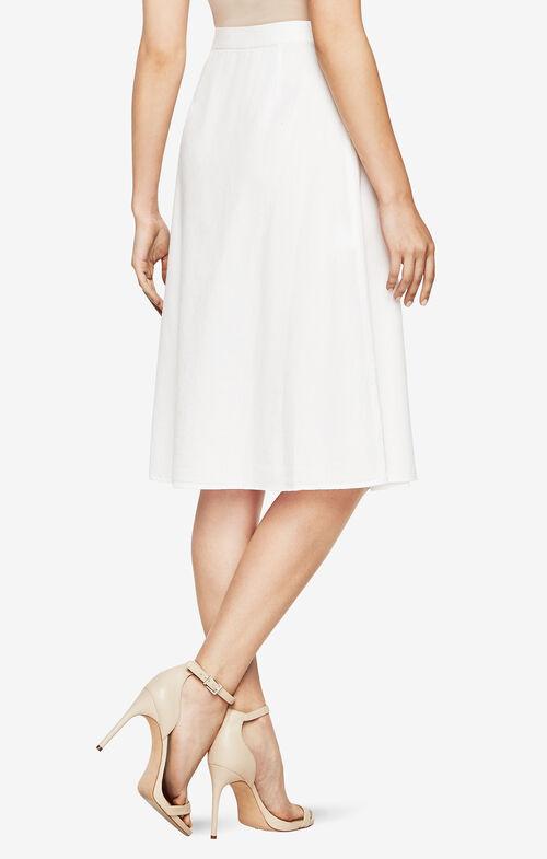 Meya Chambray Wrap Skirt