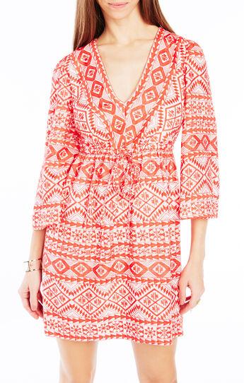 Jacky Geometric Embroidered Dress