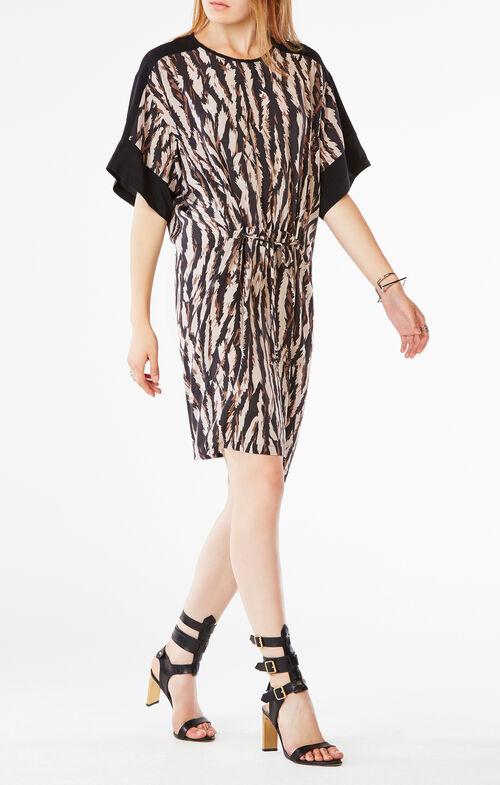Nicolette Animal Print Dress