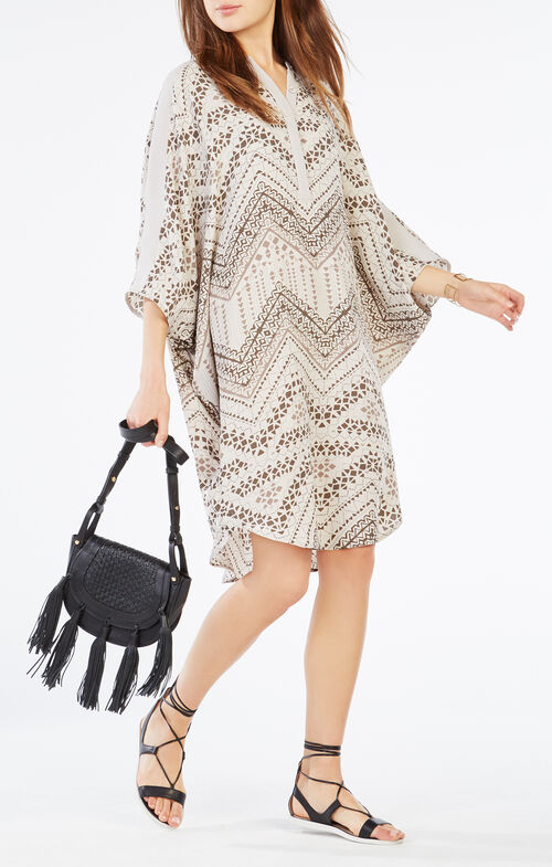 Stela Geometric Print Tunic Dress