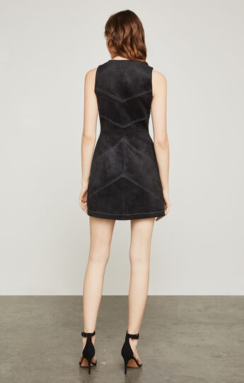 Alaina Faux-Suede Dress