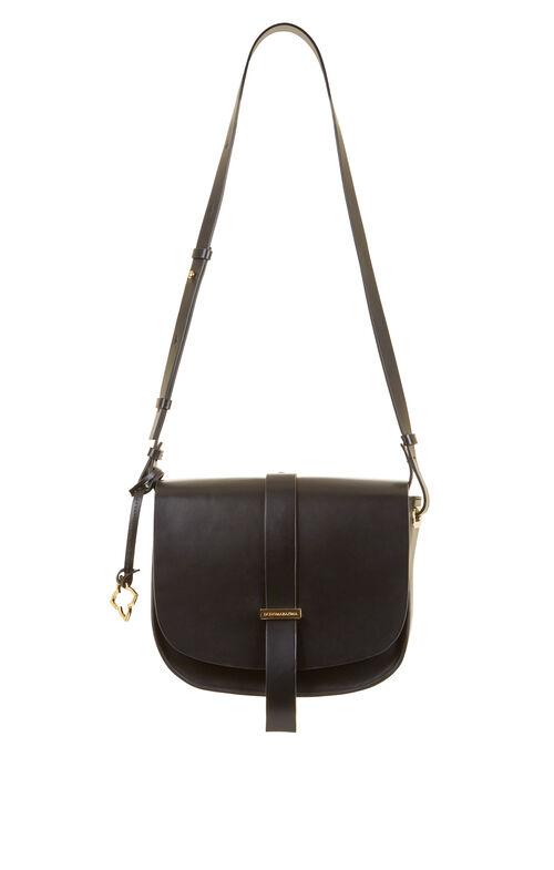 Aprille Medium Leather Saddle Bag