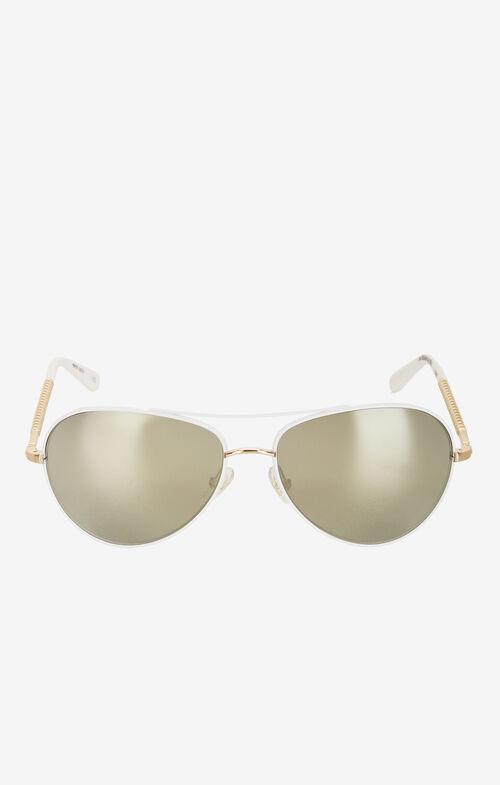 Enthrall Aviator Sunglasses