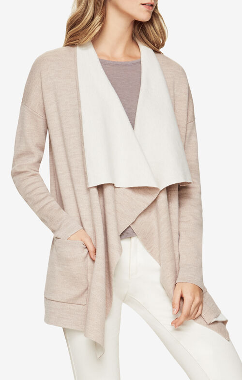 Cyra Open-Front Cardigan