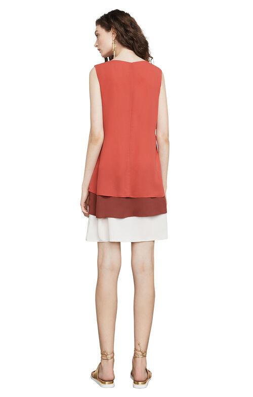 Haley Color-Blocked Tank Dress