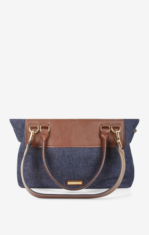 Rosemarie Denim Satchel