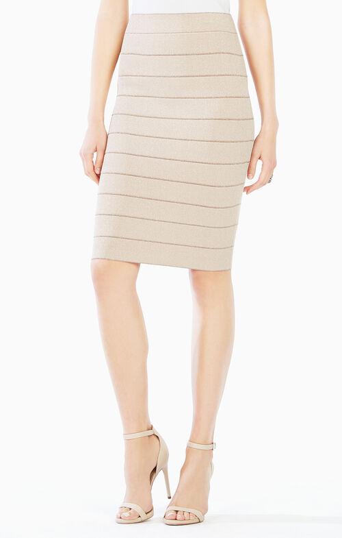 Alexa Metallic Skirt