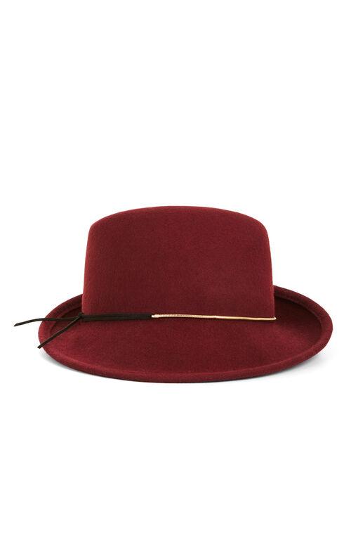 Asymmetrical Fedora Hat