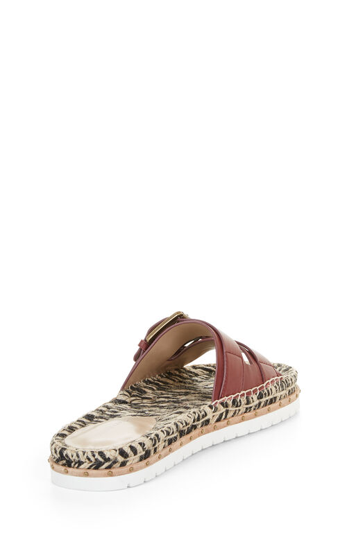 Quince Flat Leather Sandal