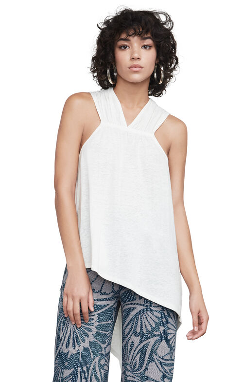 Alison Asymmetric Tank Top