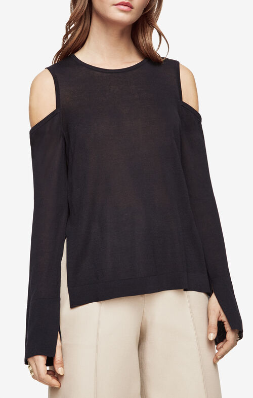 Anita Cold-Shoulder Sweater