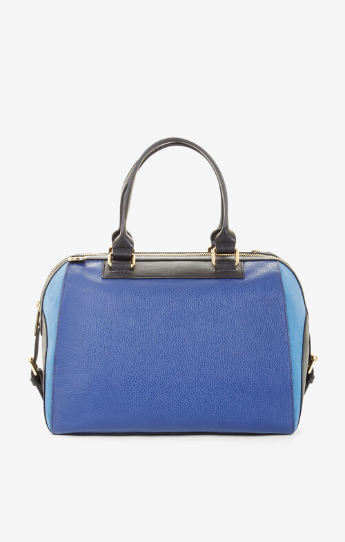 Lucinde Color-Blocked Satchel