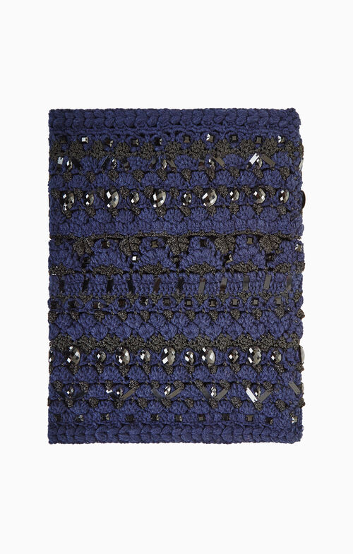 Crystal Crochet Loop Scarf