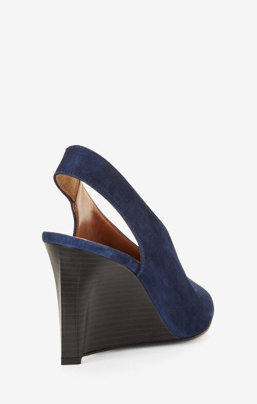 Nola Suede Wedge Sandals