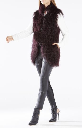 Jewel Mongolian Fur Vest