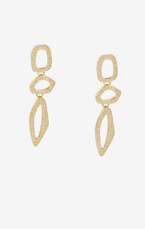 Textured Loop Earrings