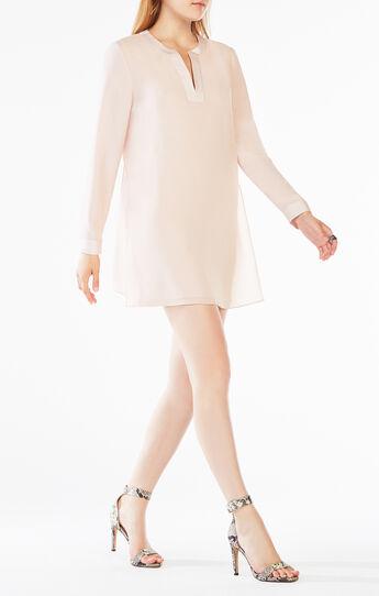 Dyanna Long-Sleeve Tunic Dress