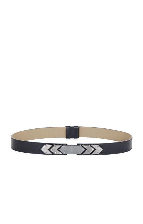 Houndstooth Plated Waist Belt