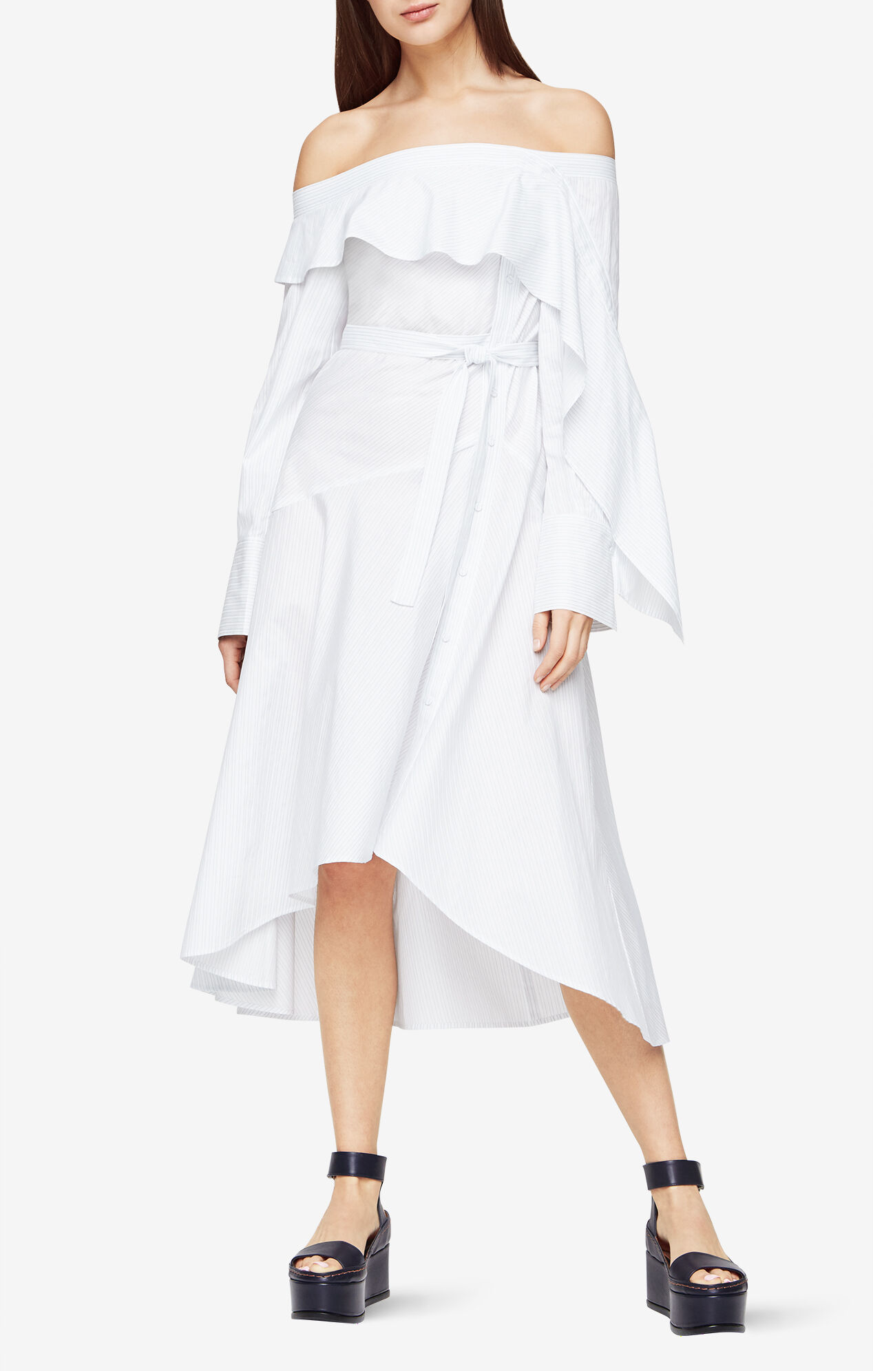 white high low dresses for juniors