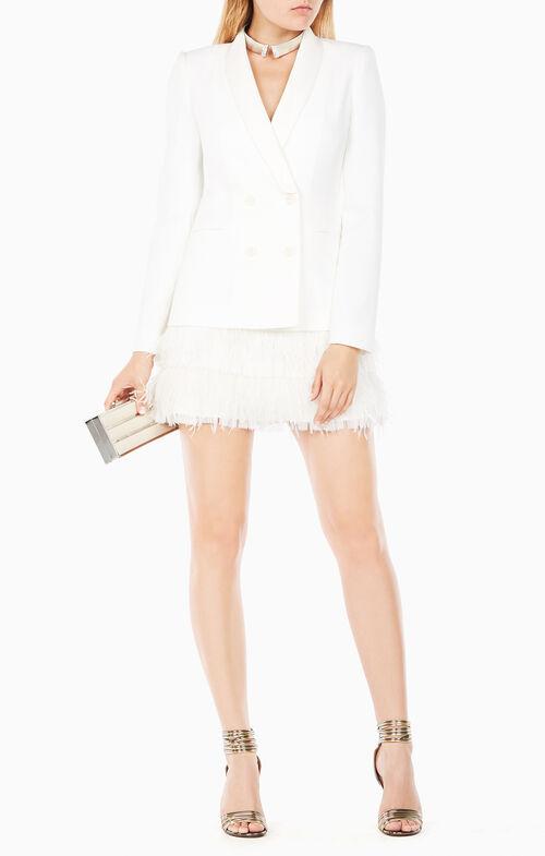 Delphina Feathered Jacket Dress