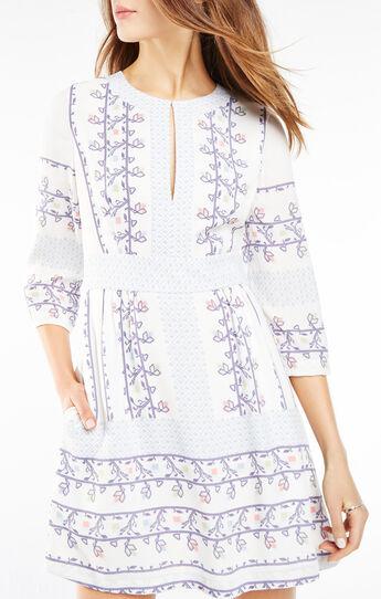 Danielle Floral Print Dress