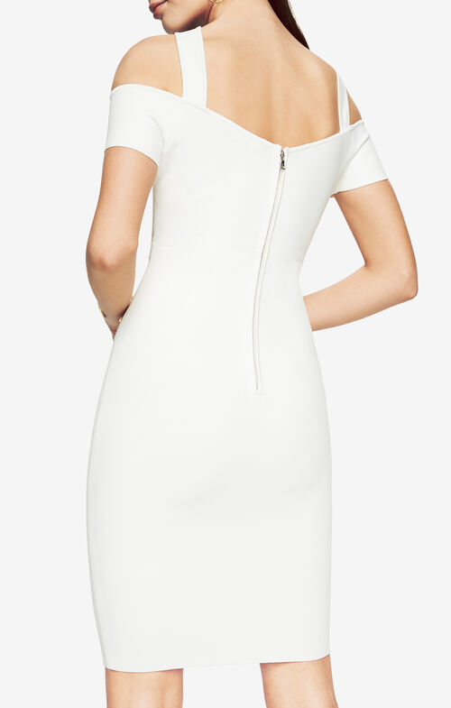 Ally Cold-Shoulder Halter Dress