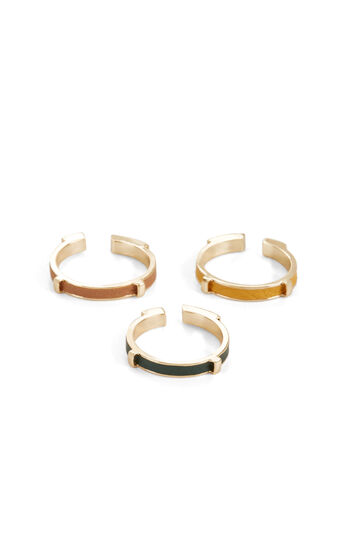 Leather Ring Set