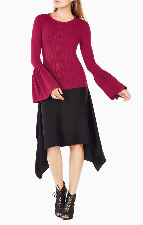 Lianna Flared-Sleeve Top