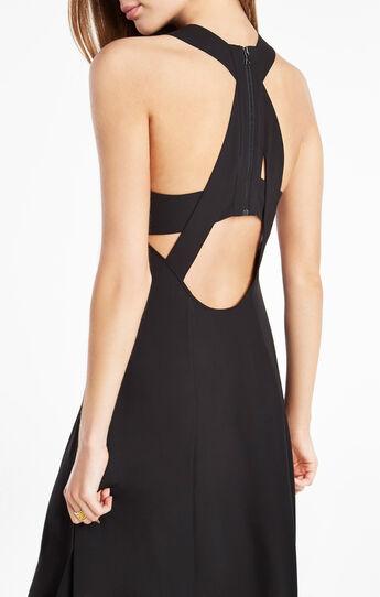Ariell Open-Back Asymmetrical Dress