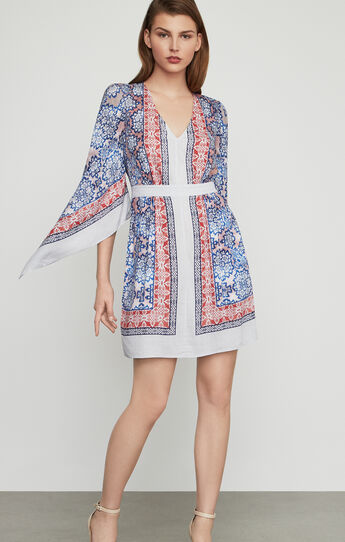 Jenissa Blossoms Print Wrap Dress