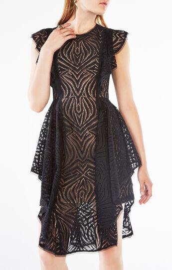 Christiania Ruffle Lace Dress