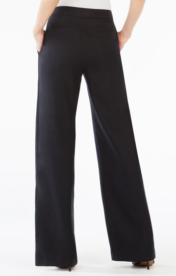 Chrisden Belted Wide-Leg Pant