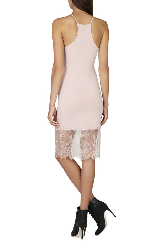 Bridgett Lace-Trim Slip Dress