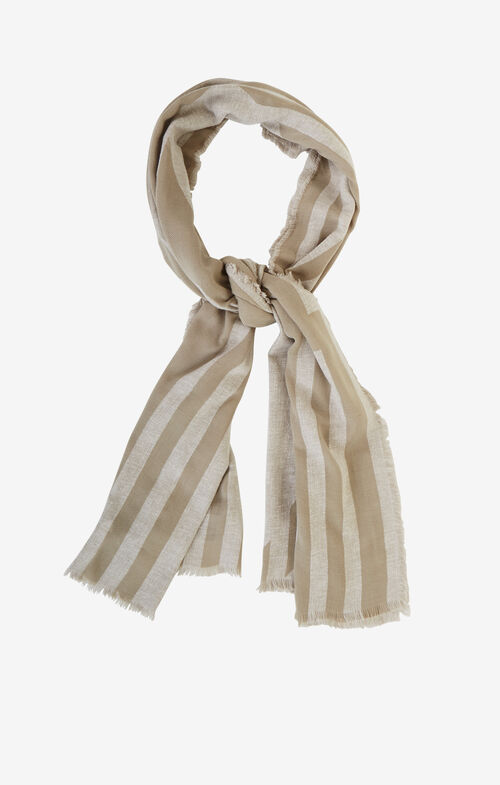 Striped Wrap Scarf