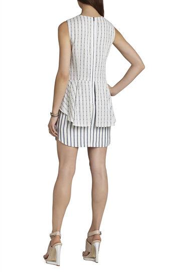 Yousra Sleeveless Peplum Dress