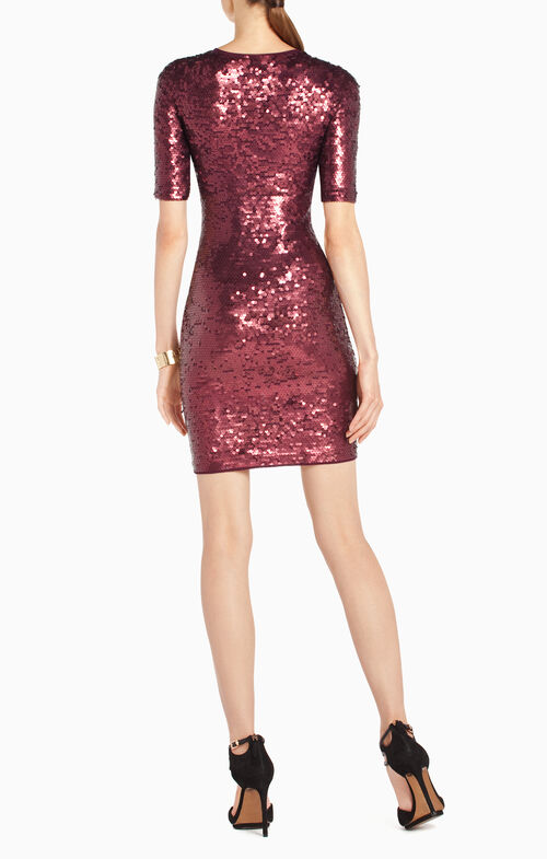 Marta Sequined Cocktail Dress
