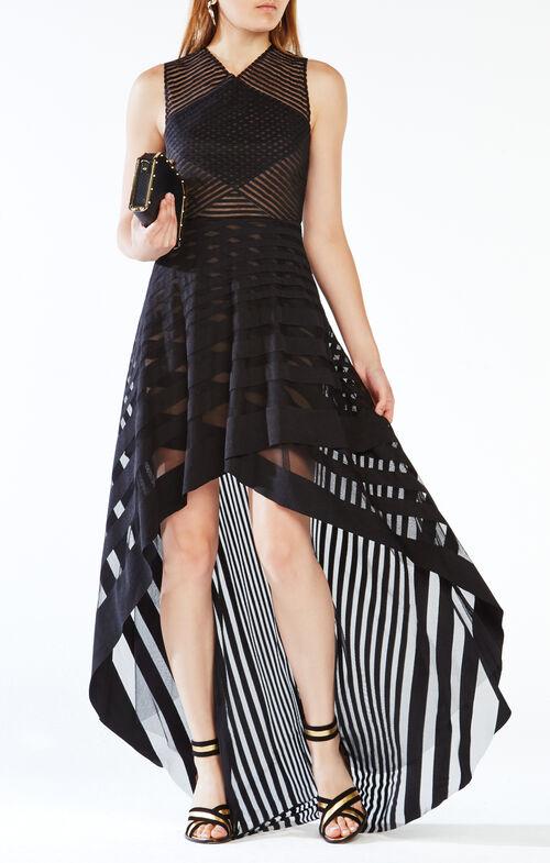 Keanna High-Low Lace Dress