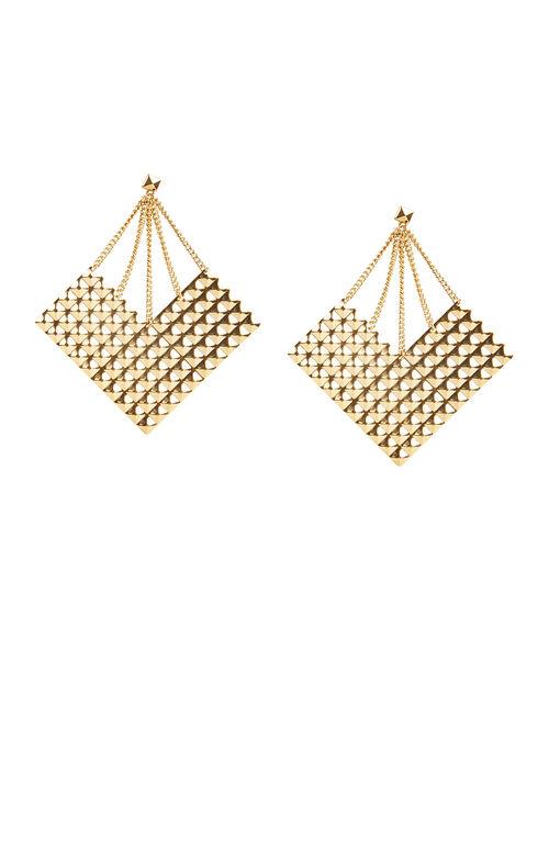 Studded Plate Earrings