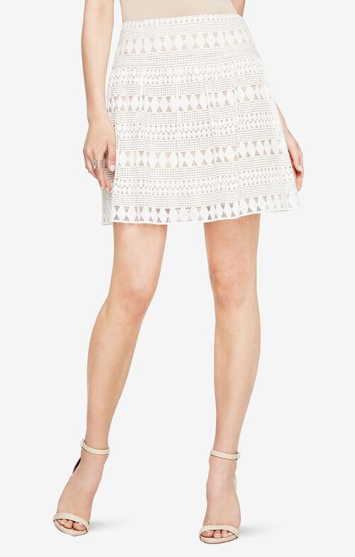 Mikaela Lace Miniskirt