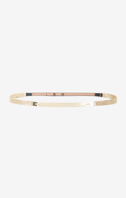 Metal Mesh-Plated Belt