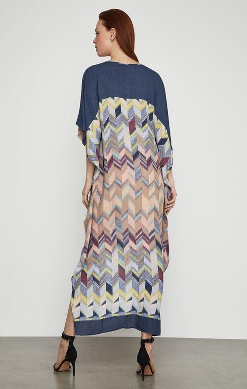 Cristen Printed High-Low Dress